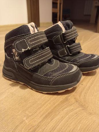 Buty ocieplane 25 dla dziewczynki