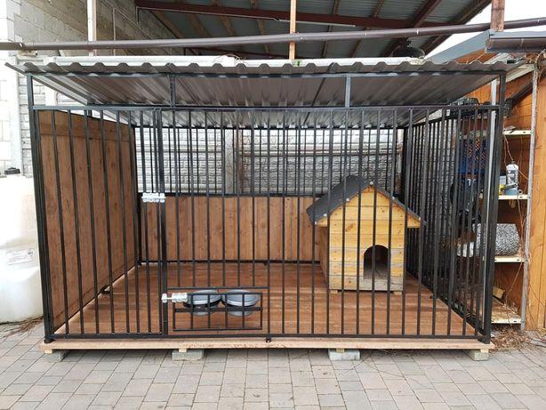 Kojec klatka Box Dla Psa Szybka buda dostawa 3mx3m i montaż gratis