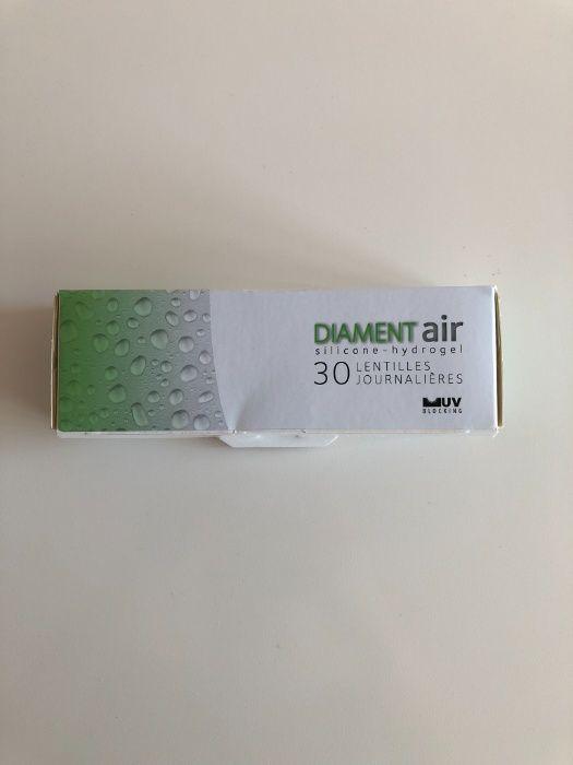 Soczewki kontaktowe jednodniowe Diament air -1,25 20 sztuk Warszawa - image 1