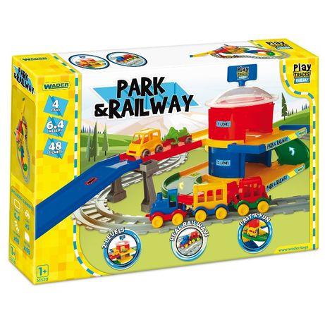Wader stacja kolejowa Play Tracks Railway