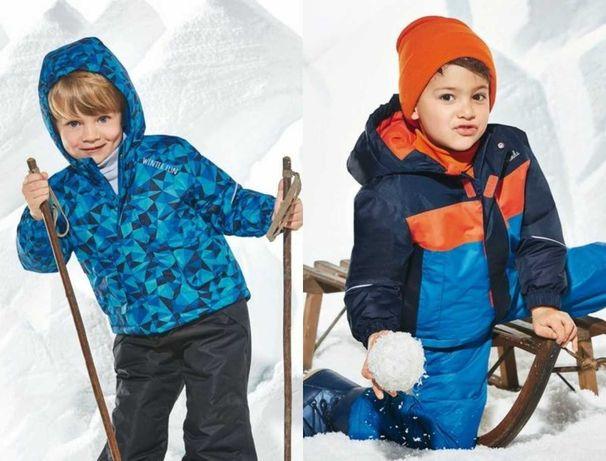 р. 86-92, 98-104, зимний комбинезон лыжный костюм мембр Lupilu