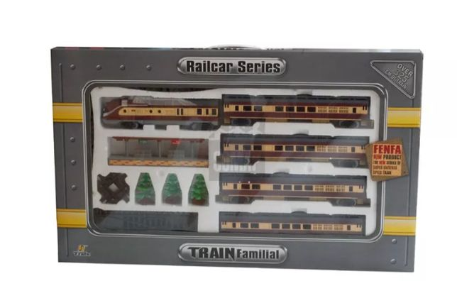 Fenfa Railcar Series H0 1:87 Kolejka na baterie