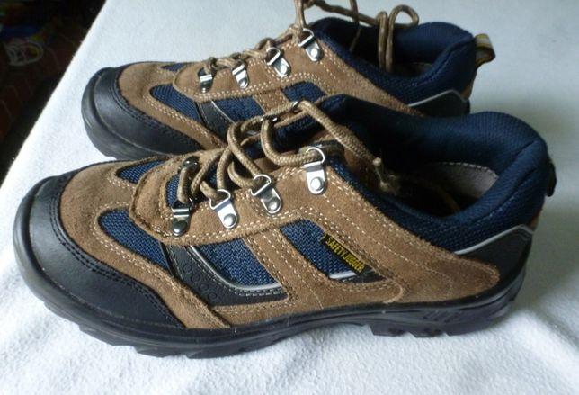 Buty robocze, metalowe noski: SAFETY JOGGER, w bardzo dobry stan, 43 r