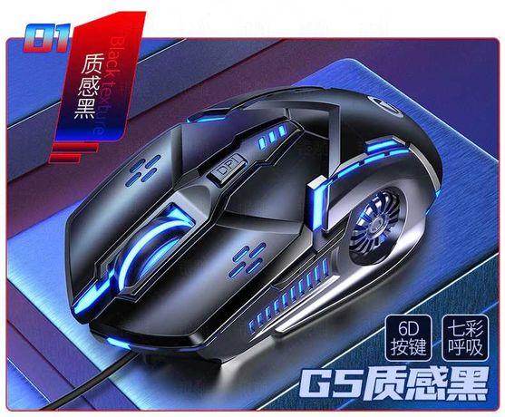 Компьютерная бесшумная USB мышь G5