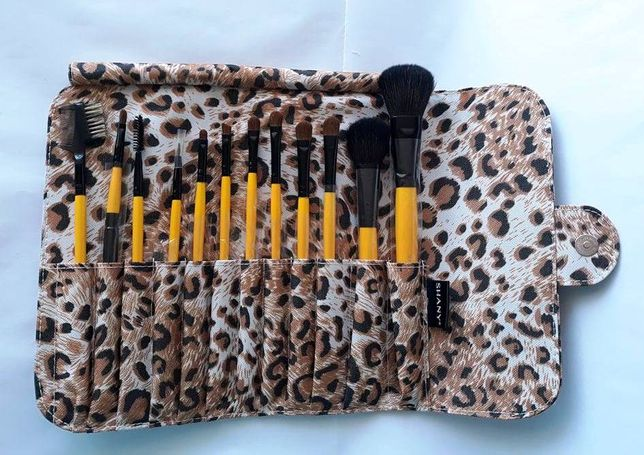 Набор кистей - Shany Leopard 12pc - черная пятница