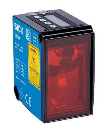 Czujnik optyczny - dalmierz SICK DS50