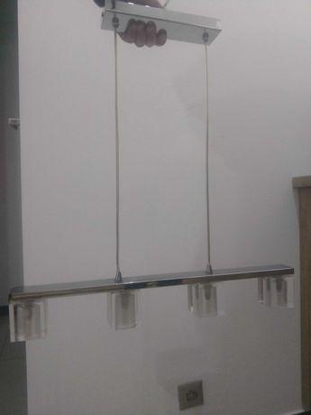 Lampa wisząca szklana