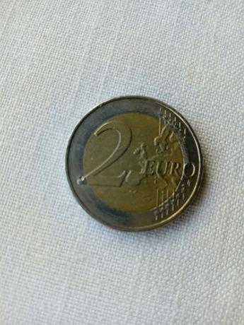 Moeda 2 euros rara