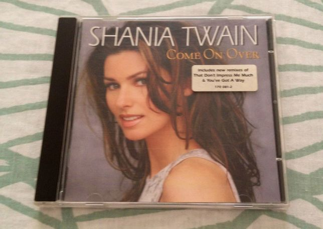 "CD ""Shania Twain - Come On Over"""
