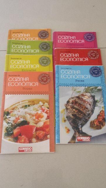 7 livros receitas de cozinha saudável