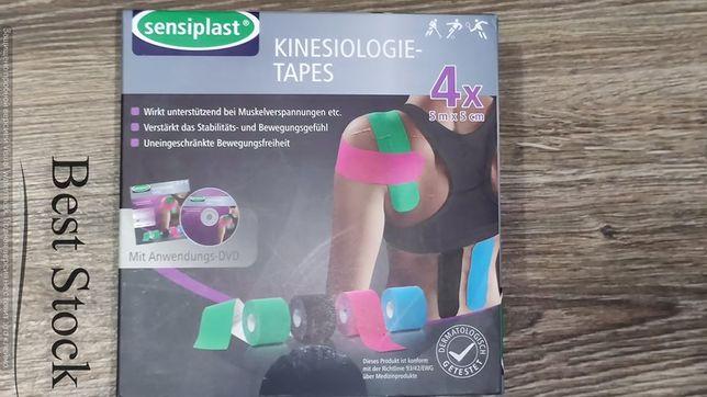 Sensiplast кинезиологические тейпы + DVD применением из Германии