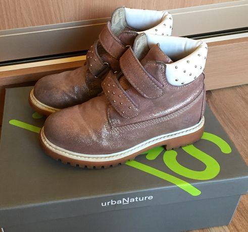 Ботинки lumberjack кожаные 31 размер