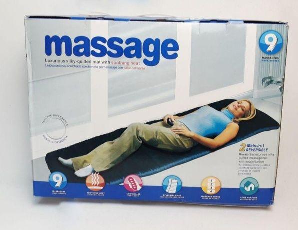 Массаж.Массажный коврик накидка матрас с подогревом Massage спины ног
