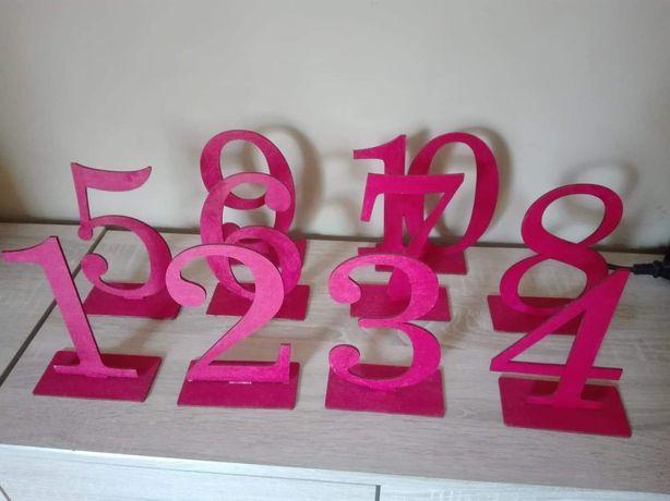 Numery na stół-fuksja