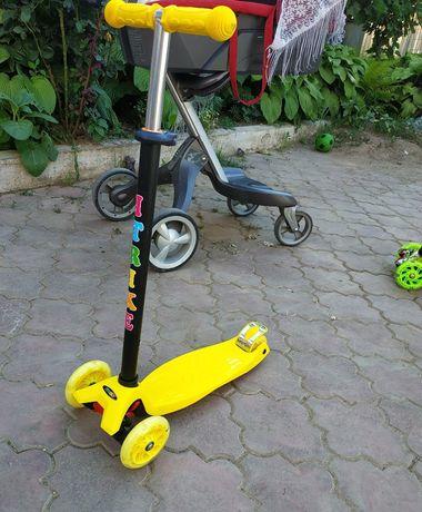Самокат трехколесний iTrike MAXI
