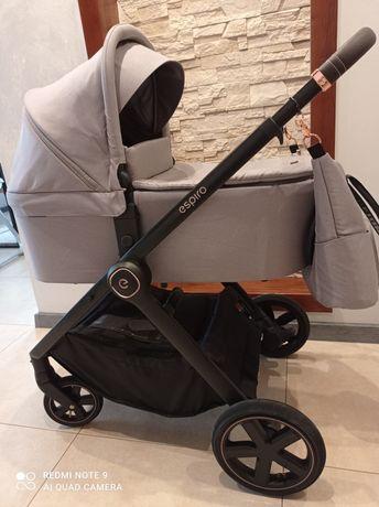 Wózek głęboko-spacerowy 2w1 Espiro Only grey