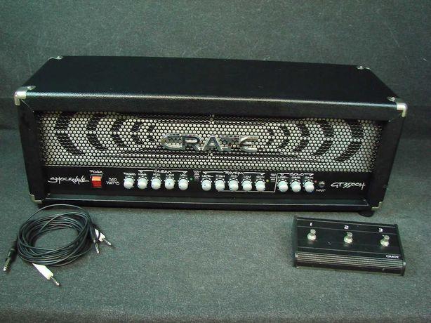 Cabeço/Amplificador CRATE GT3500H Shockwave 350W