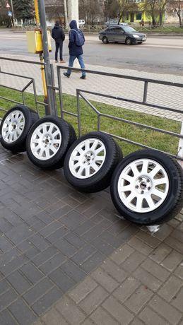 Титанові R16. 3200грн БЕЗ РЕЗИНИ диски оригінальні Ауді Audi r16