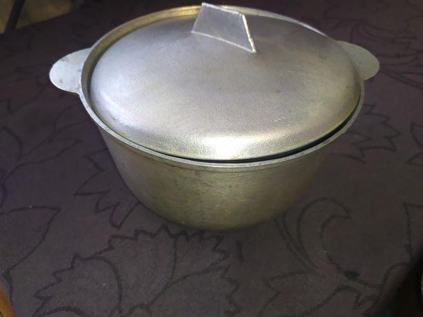 Казанок кастрюля котелок алюминиевый на 3л