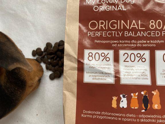 Karmy My Lovely Dog dla wymagających psów- nawet 80% mięsa