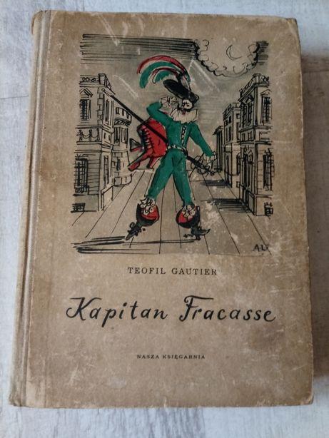 """Kapitan Fracasse"" Théophile Gautier 1960r. powieść historyczna"