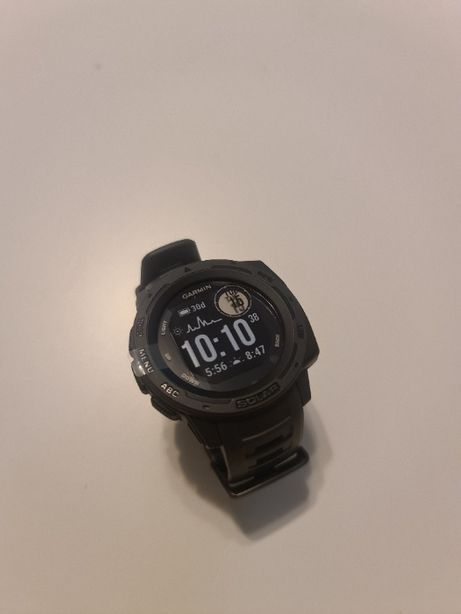 Nowy smartwatch Garmin Instinct Solar - Grafitowy