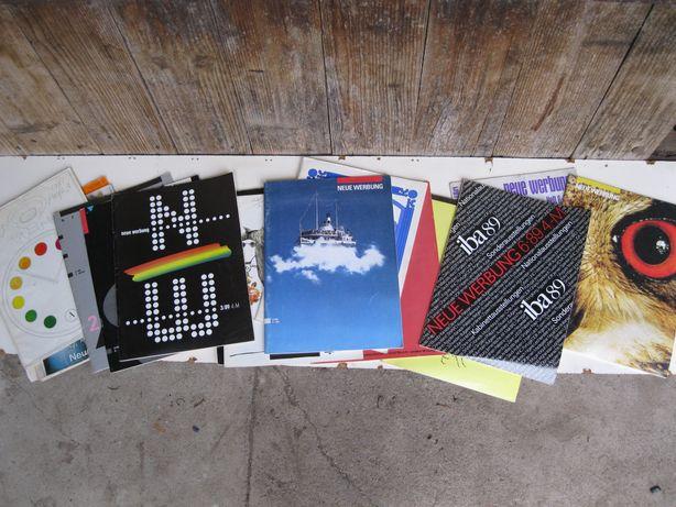журналы по рекламе NEUE WERBUNG (Новая реклама) ГДР