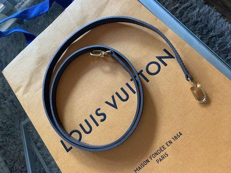 Oryginalny 100% uniwersalny pasek do torebki Louis Vuitton dł 113 cm