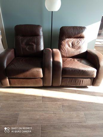 Wypoczynek skórzany  ,fotele skórzane