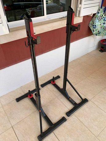 Suporte para Barra de Musculação Rack