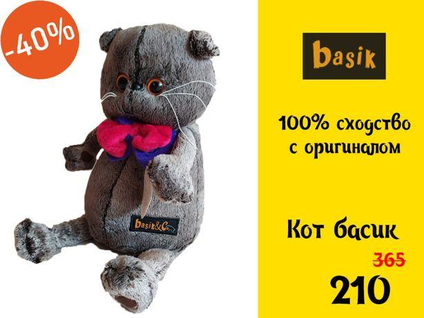 Скидка! Кот Басик Большой Кошка Basik&Co Британец 35 см г.Одесса