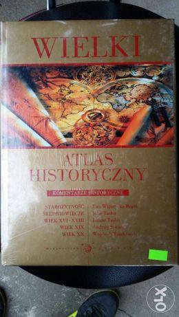Wielki atlas historyczny.NOWY!