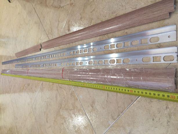 Juntas de portas/ janelas em alumínio para chão flutuante