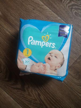 Подгузник, пасперсы Pampers New Baby Newborn Размер 1 (2-5 кг), 27 шт.