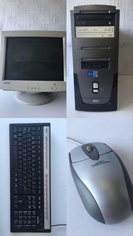 Monitor+torre+teclado+rato