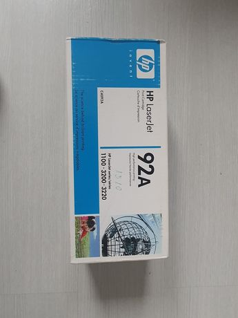 HP 92A black toner cartridge (C4092A)