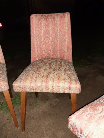Krzesła patyczaki prl stan dobry