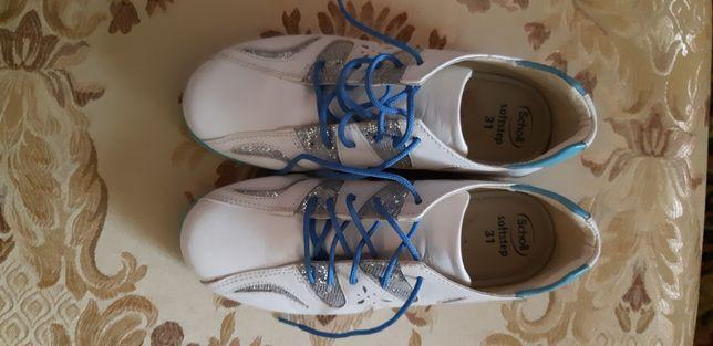 Кожаные ботинки, кросовки для девочки Италия, blumarine, tvin set