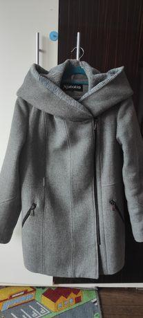 Płaszcz damski wełniany 44 46