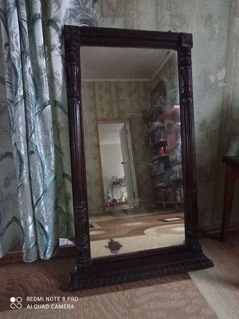 Зеркало старинное , винтажное