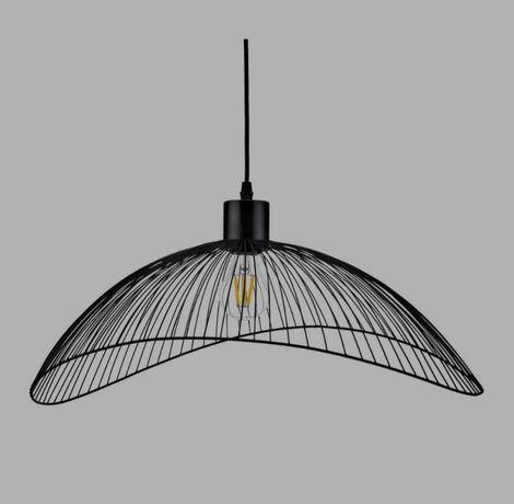 Lampa wisząca holly 40 czarna