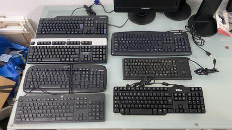 Telcados USB ( lenovo / HP/Dell / Microsoft ) impecaveis.