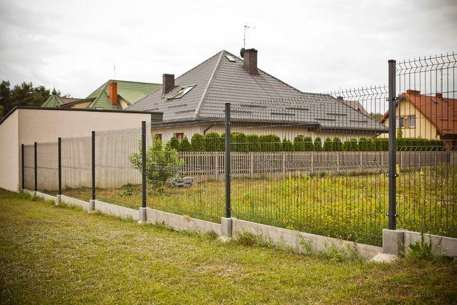 Montaż ogrodzenia panelowe Wiśniowski 10 lat gwarancji