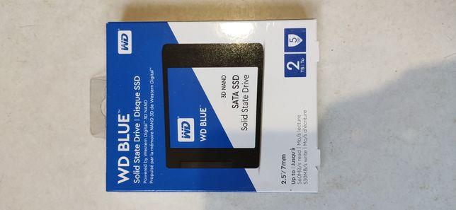 SSD накопитель WD SSD Blue 2 TB M.2 (WDS200T2B0B)