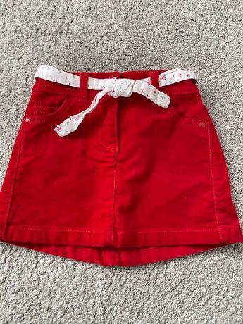 Spódniczka Next 98 cm czerwona
