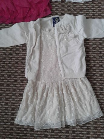 Sukienka isweterek 5.10.15 rozm 92-98