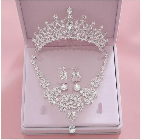 Zestaw Biżuterii Ślubnej
