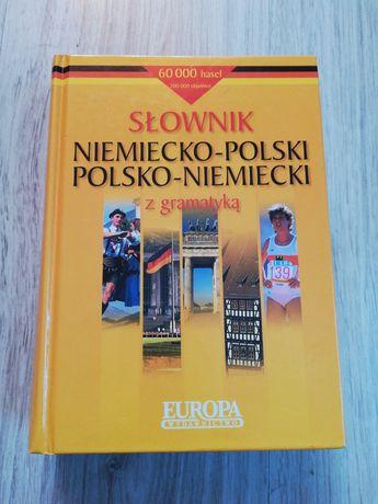 Słownik polsko - niemiecki z gramatyką