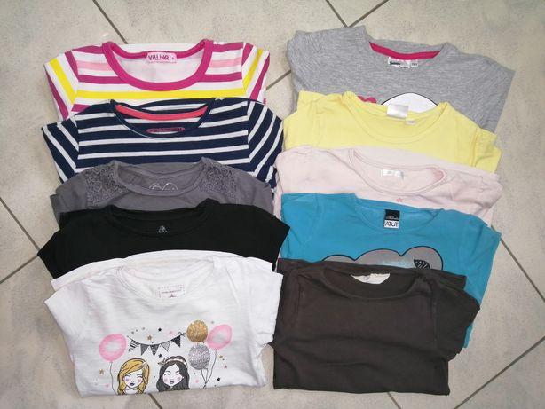 Bluzeczki 116 bluzki dziewczynka 5 lat