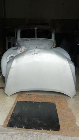 Капот Nissan Rogue рестайл алюминий